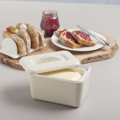 Zeal Butter Box melamine cream colour from funky gifts nz