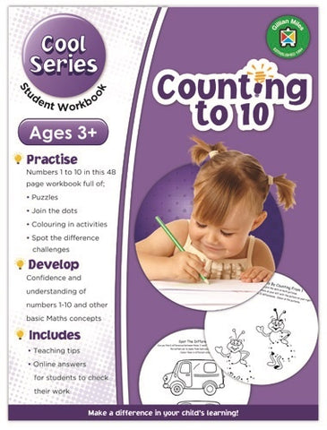 Cool Counting to 10 Exercises for Early Learners 3+