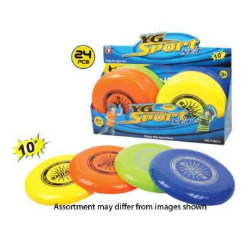 10 inch Frisbee Assorted