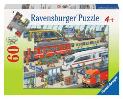 Ravensburger Railway Station Puzzle 60pc
