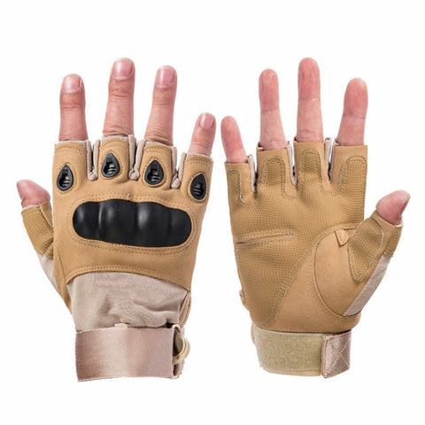 Tactical Gloves Brown
