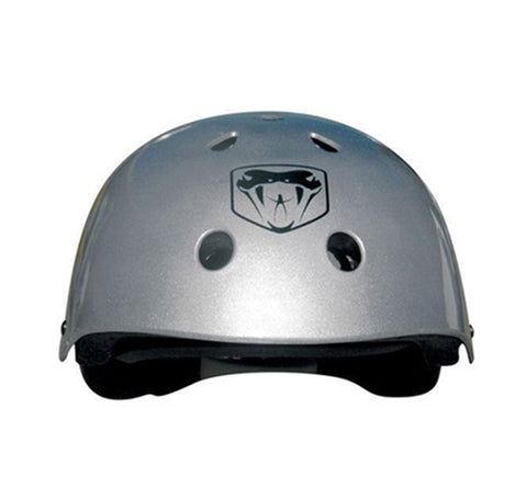 Adrenalin Skate Helmet Silver Finish