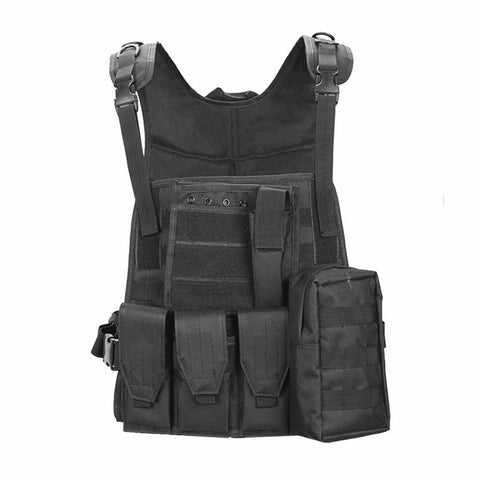 Tactical Combat Vest Black