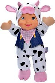 Baby's First Farm Animal Friends Doll Cow Outfit