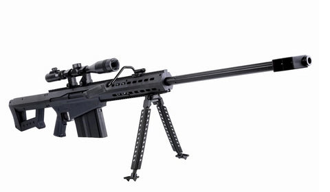 Toy Gun Battery Operated Barrett M82A1 Sniper Rifle