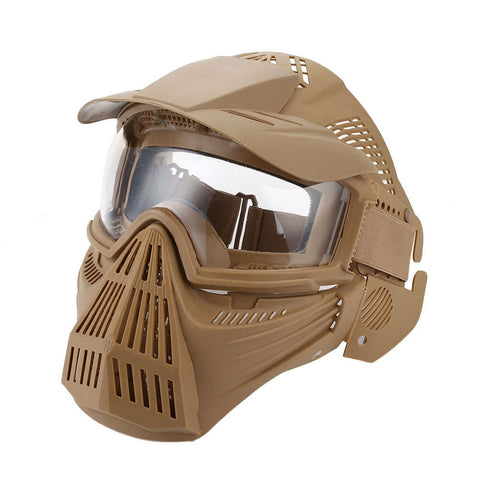 Full Face Mask Khaki