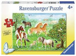 Ravensburger Mustang Meadow 60pc puzzle 4+