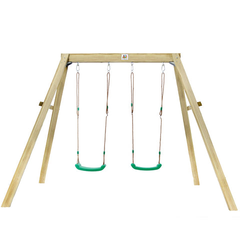 Holt 2 Timber Double Swing Set