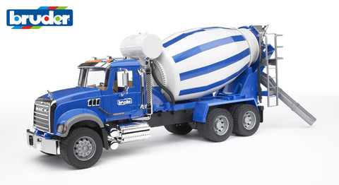 Bruder 1/16 MACK Granite Cement Mixer