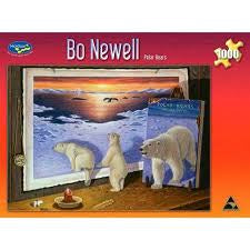 Bo Newell Polar Bears 1000pc Pu