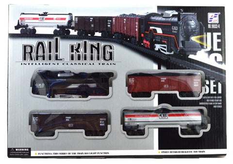 Rail King Set - Battery operated 34cm