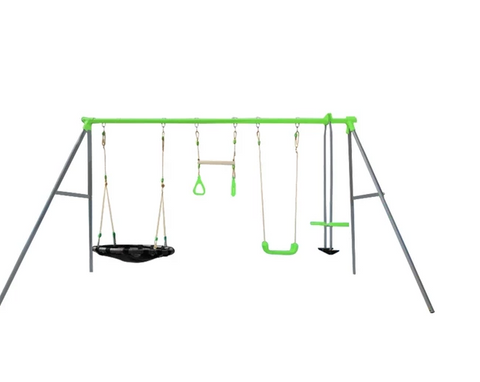 Lynx 4 Station Swing Set