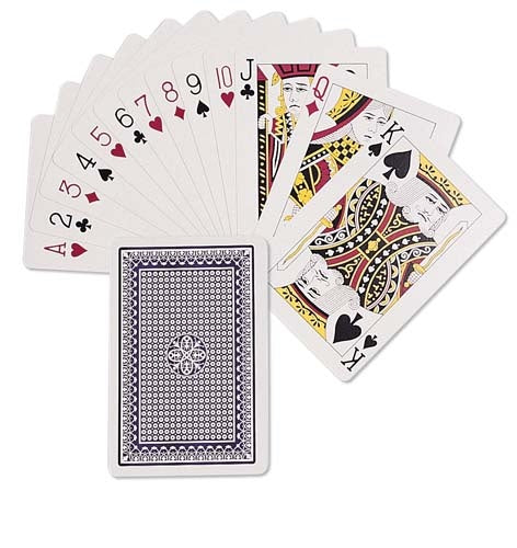 Playing Cards Plastic Boxed