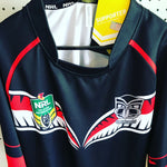 NRL Warriors Supporter Jersey Mens Size XL