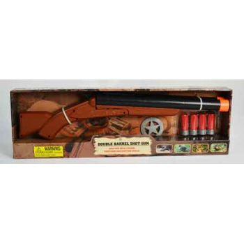 Battery Operated Double Barrel Shot Gun (Small)