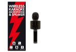 Wireless Karaoke Microphone & Speaker