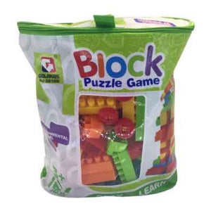 157 pce Building Blocks in Carry Bag