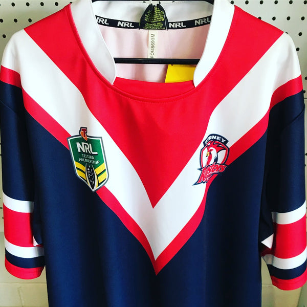 NRL Syd Rooster Supporter Jersey Mens Size XL