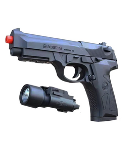 Toy Gun Battery Operated Beretta M92 Pistol Gel Blaster (14.8V)