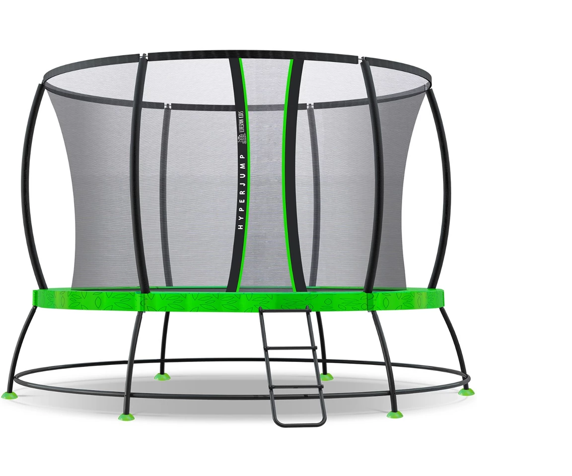 12ft HyperJump 3 Springless Trampoline Set