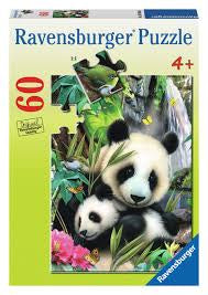 Rburg Panda Family Puzzle 60pc