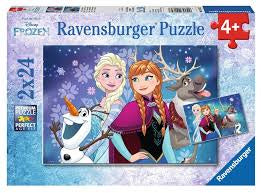 Ravensburger Disney Northern Lights Puzzle 2 x 24pc