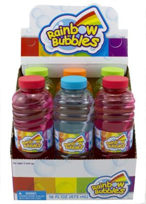 16 FL Oz Rainbow Bubbles Solution 473ml