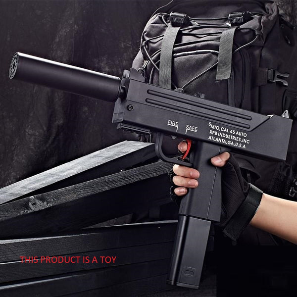 Toy Gun Battery Operated Mac 10 Gel Blaster