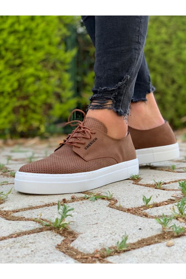 MFW Z50S Sneakers - Tan - MensFashionsWorld
