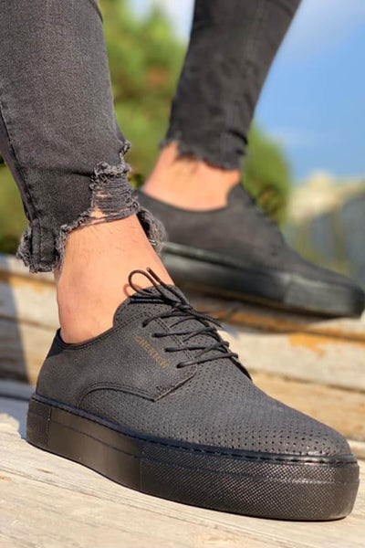 MFW Z50S Sneakers - Full Black - MensFashionsWorld