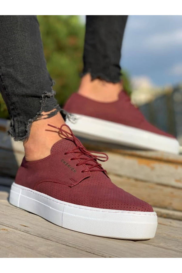 MFW Z50S Sneakers - Red - MensFashionsWorld