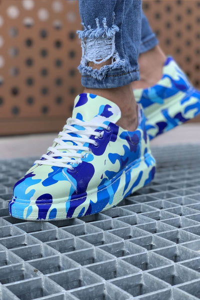 Special Edition Sneakers- Blue KLJ - MensFashionsWorld