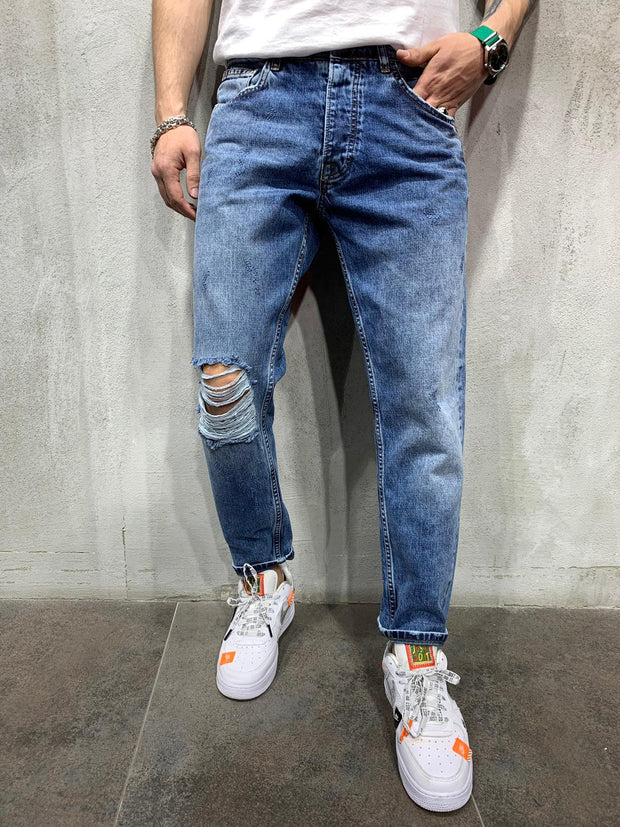 Ripped Jeans Light Wash