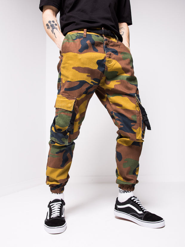 Camouflage Cargo Jeans