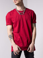 Basic Maroon T-Shirt - MensFashionsWorld