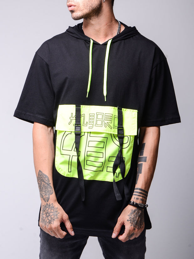 Neon Pocket T-shirt - MensFashionsWorld