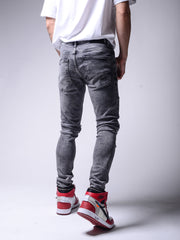 Road Beast Jeans - Gray - MensFashionsWorld