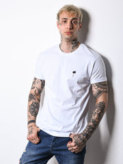 Los Angel White Tee - MensFashionsWorld