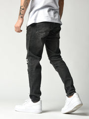 Casual Fit Black Jeans