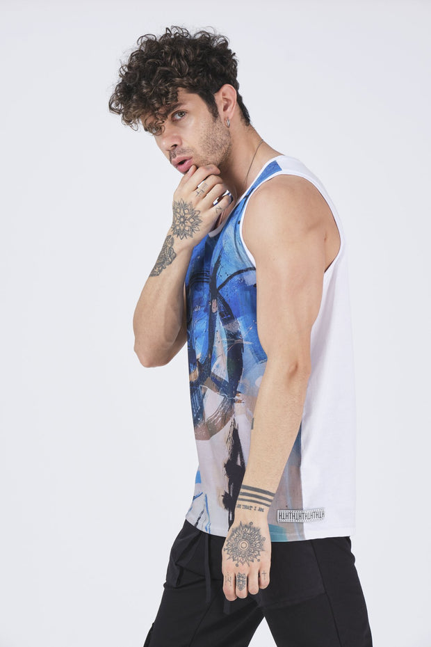 Colorful Tank Top - MensFashionsWorld