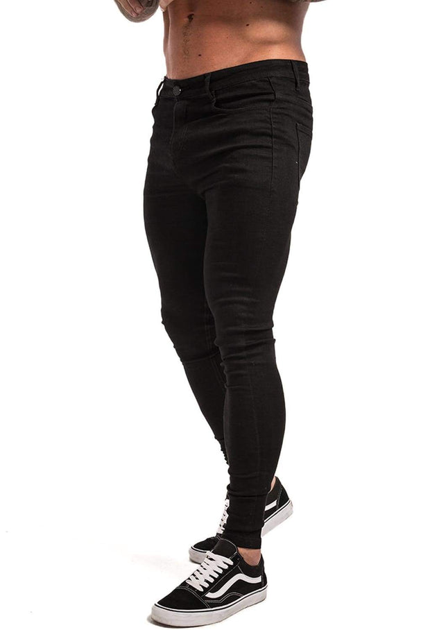 Men's Black Skinny Jeans - MensFashionsWorld