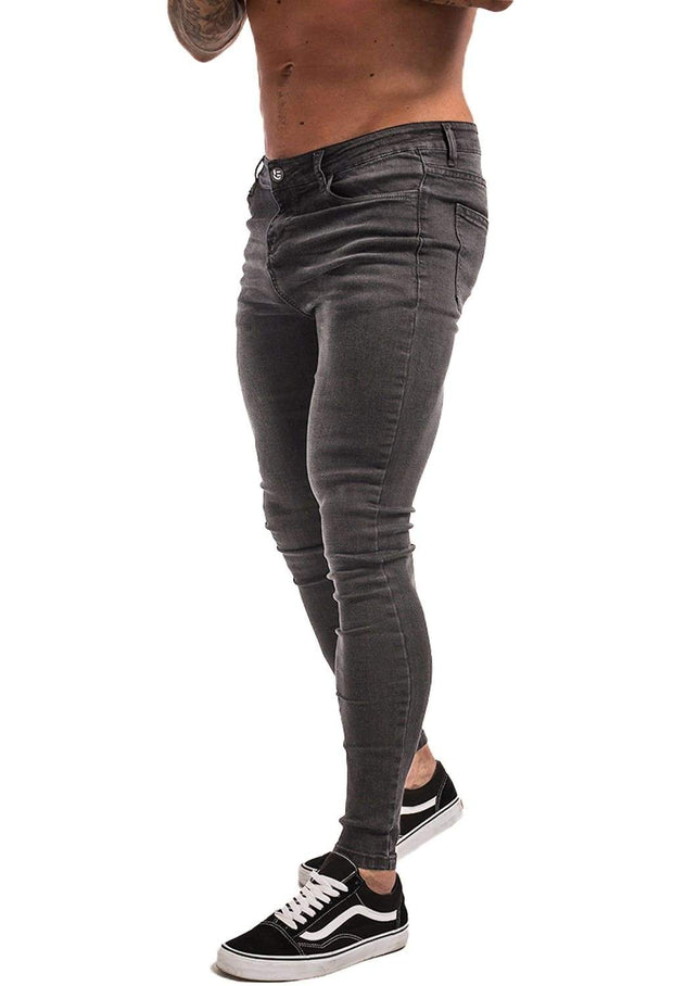 Skinny Jeans Tapered Stretch - MensFashionsWorld