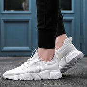 Men's Summer Sports Sneakers - White