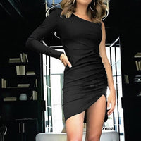 One Shoulder Clubwear Dress