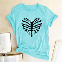 Skeleton Heart Shirt