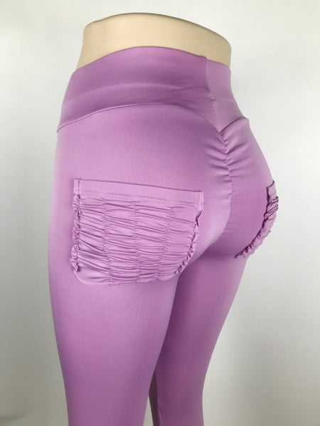 Slim Fit Candy Color Leggings