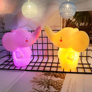 Lovely Unicorn Shape Nursery Night Light Baby Room Lamp