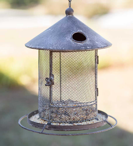 Silo Hanging Bird Feeder