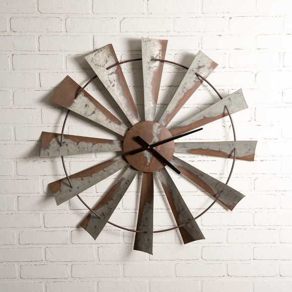 Windmill Wall Clock - 32