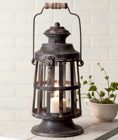 Curtis Island Candle Lantern - Old-Time-Shoppe